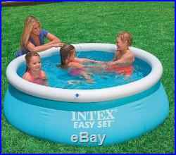 Intex 6' x 20 Easy Set Inflatable Swimming Pool with 330 GHP Filter Pump
