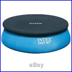 Intex 8 ft Above Ground Inflatable Swimming Pool Cover Easy Set-Up