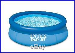 Intex 8' x 30 Easy Set Inflatable Above Ground Swimming Pool 28110E Open Box