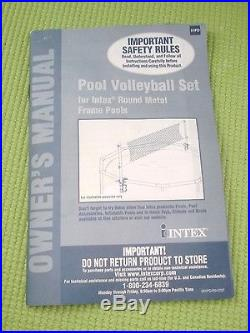 Intex Above Ground Swimming Pool Volleyball Set 158951 18 x 48 NEW