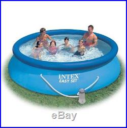 Intex Easy Set 12-Foot x 30-Inch Inflatable Round Swimming Pool With Filter Pump