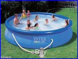 Intex Easy Set Ring Pool 18' X 48 with Filter Pump & Salt Water System