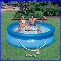 Intex Easy Set Up 10 X 30 Swimming Pool With Filter Pump Family Above Ground