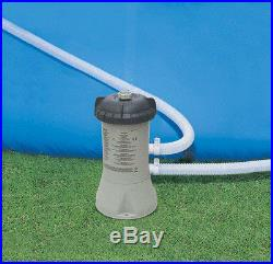 Intex Swimming Pool 12 x 30 Above Ground Filter Pump Toys Cover Backyard Ladder