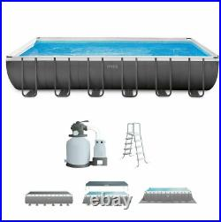 Intex Ultra XTR 24ft x 12ft x 52in 26363EH Rectangular Above Ground Pool