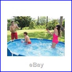 Metal Frame Pool Above Ground Swimming Family Summer New Pump Filter 10'X 30