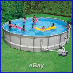 NEW in Box Intex 20ft x 52in Ultra Frame Above Ground Swimming Pool