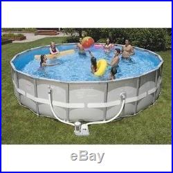 New INTEX Ultra Frame 18ft x 48in ABOVE GROUND SWIMMING POOL with FILTER PUMP