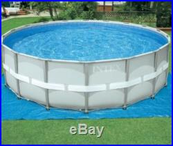 New Intex 18ft Round X 48in Deep. Ultra Frame Pool Set