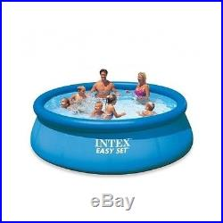 New Model Intex Easy Pool Set Inflatable Pump Filter Swimming Above Ground Kids