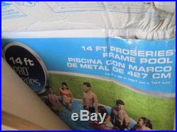 PRO SERIES NZ48022-011 14' X 42 ROUND ULTRA FRAME ABOVE GROUND SWIMMING POOL