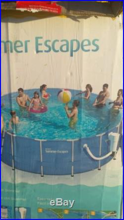 Polygroup 17 ft x 52 in swimming pool