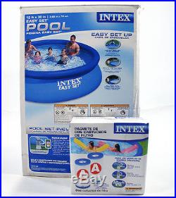 Pool Above-Ground Intex Easy Set-up 12' x 30 plus 2 New Filter Cartridges