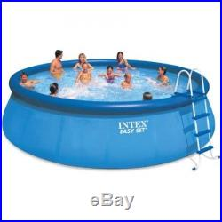 Pool swimming above ground set, pump ladder filter cover easy round water fun