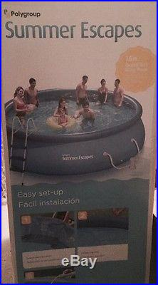 Summer Escape Swimming Pool 16 foot with filter