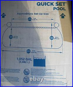 Summer Waves 10-ft Quick Set Ring Swimming Pool