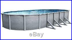 Summit 15'X30' Foot OVAL Aboveground 52 Inch Steel Wall Swimming Pool 40 Year