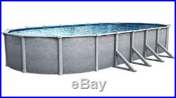 Summit 18'X33' Foot OVAL Aboveground 52 Inch Steel Wall Swimming Pool 40 Year