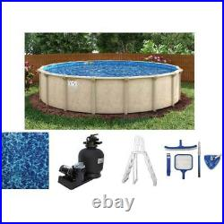 Surfside 24' Round 52 Steel Above Ground Pool Package