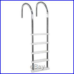 Swim Standard Stainless Steel In Pool Ladder Above Ground Pools Safety Kids Home