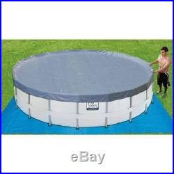Swimming Pool 14' x 42' Round With Ladder Filter Pump Cover and Maintanance Kit