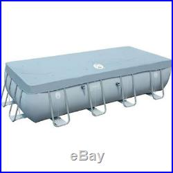 Swimming Pool Above-Ground 18' x 9' x 48 Steel Frame Filter Pump Ladder Cover