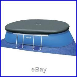 Swimming Pool Above Ground Intex Oval Frame Ladder Cover Water Filter Pump Cloth