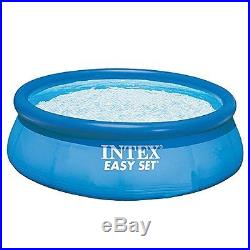 Swimming Pool Inflatable Easy Set Up 12ft X 30in Above Ground With Pump Filter