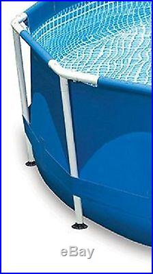 Swimming Pool Intex 12X30 Steel Metal Frame Set Above Ground with Filter Pump