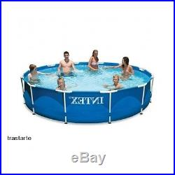 Swimming Pool Set Above Ground Backyard Water Pump Filter Family Summer Outdoors