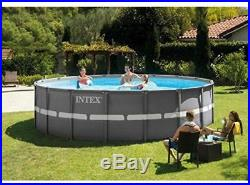 Ultra Frame Pool Set with Filter Pump & Saltwater System, Deluxe Maintenance Kit