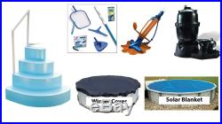 Ultra Pool Equipment Package 24' Round Above Ground Swimming Pool