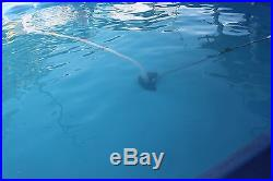 Used 18' above ground swimming pool 42 deep with all accessories pump & filter