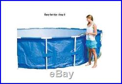 Water Sports Equipment 15' x 48 Steel Pro Frame Above Ground Swimming Pool New